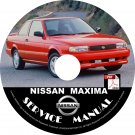 1994 Nissan Maxima Service Repair Shop Manual on CD Fix Repair Rebuild 94 Workshop Guide