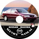 1996 Nissan Maxima Service Repair Shop Manual on CD Fix Repair Rebuild 96 Workshop Guide