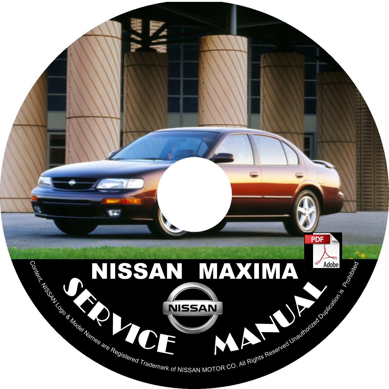 1997 Nissan Maxima Service Repair Shop Manual on CD Fix Repair Rebuild 97 Workshop Guide