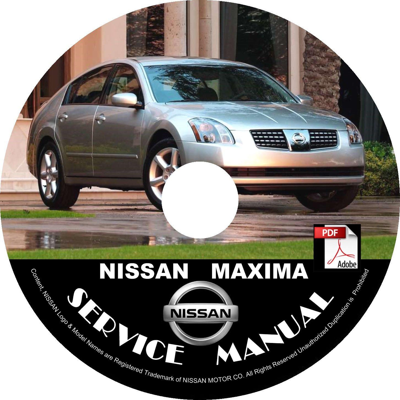 2006 Nissan Maxima Service Repair Shop Manual on CD Fix Repair Rebuild 06 Workshop Guide