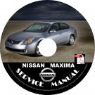 2007 Nissan Maxima Service Repair Shop Manual on CD Fix Repair Rebuild 07 Workshop Guide