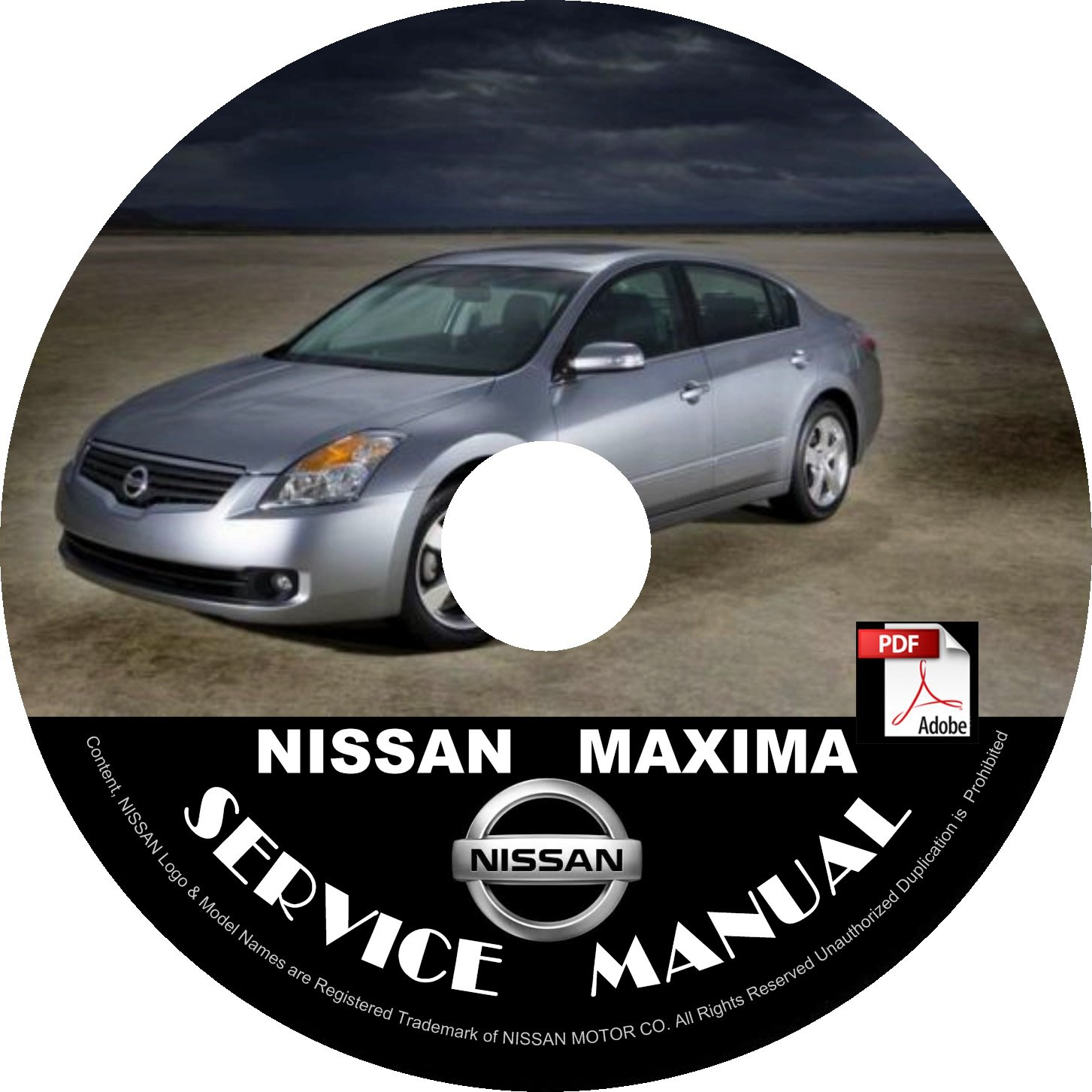 2008 Nissan Maxima Service Repair Shop Manual on CD Fix Repair Rebuild 08 Workshop Guide