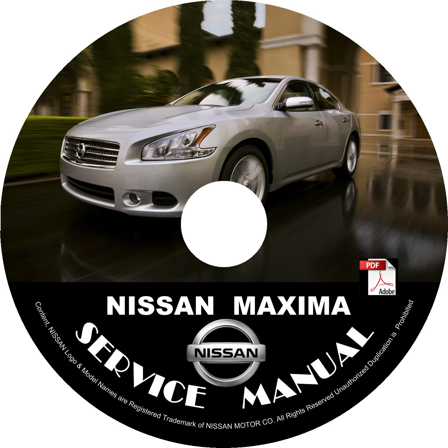 2012 Nissan Maxima Service Repair Shop Manual on CD Fix Repair Rebuild '12 Workshop Guide