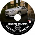 2013 Nissan Maxima Service Repair Shop Manual on CD Fix Repair Rebuild '13 Workshop Guide