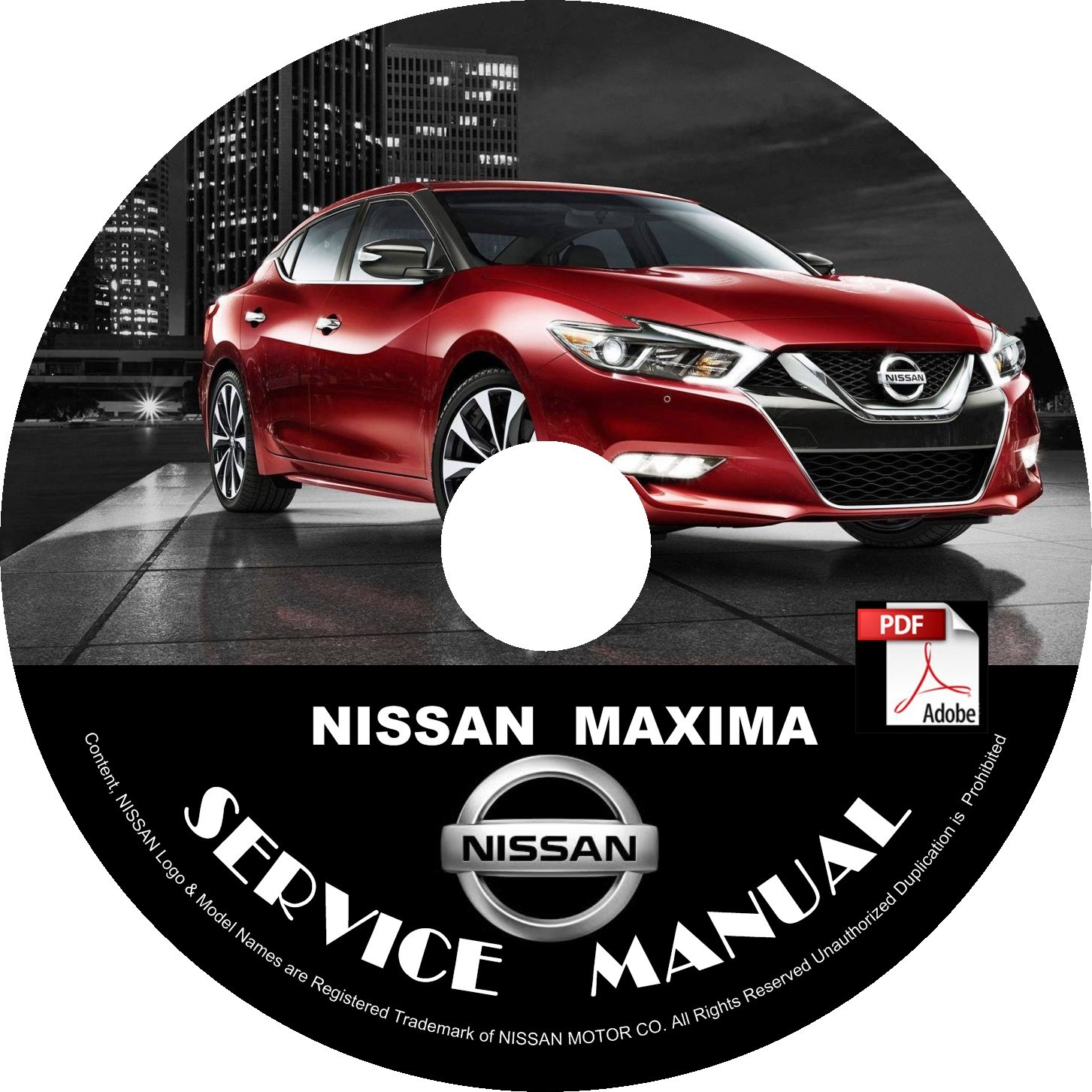 2016 Nissan Maxima Service Repair Shop Manual on CD Fix Repair Rebuild '16 Workshop Guide
