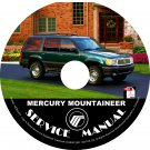 2001 Mercury Mountaineer Engine Service Repair Shop Manual on CD Fix Repair Rebuild '00 Workshop