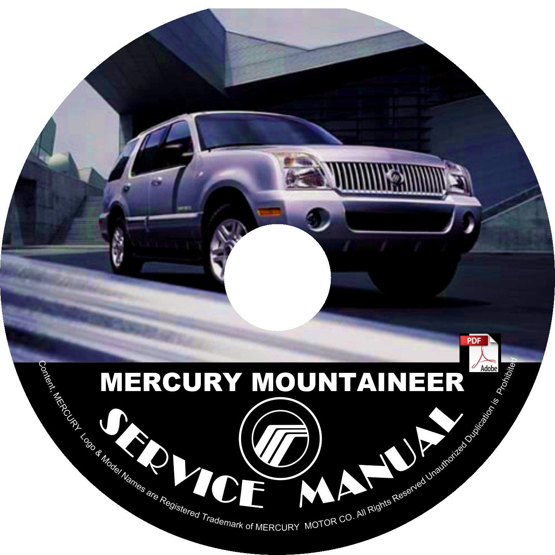 2003 Mercury Mountaineer Engine Service Repair Shop Manual on CD Fix Repair Rebuild '03 Workshop