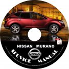 2012 Nissan Murano Factory Service Repair Shop Manual on CD Fix Repair Rebuild '12 Workshop Guide