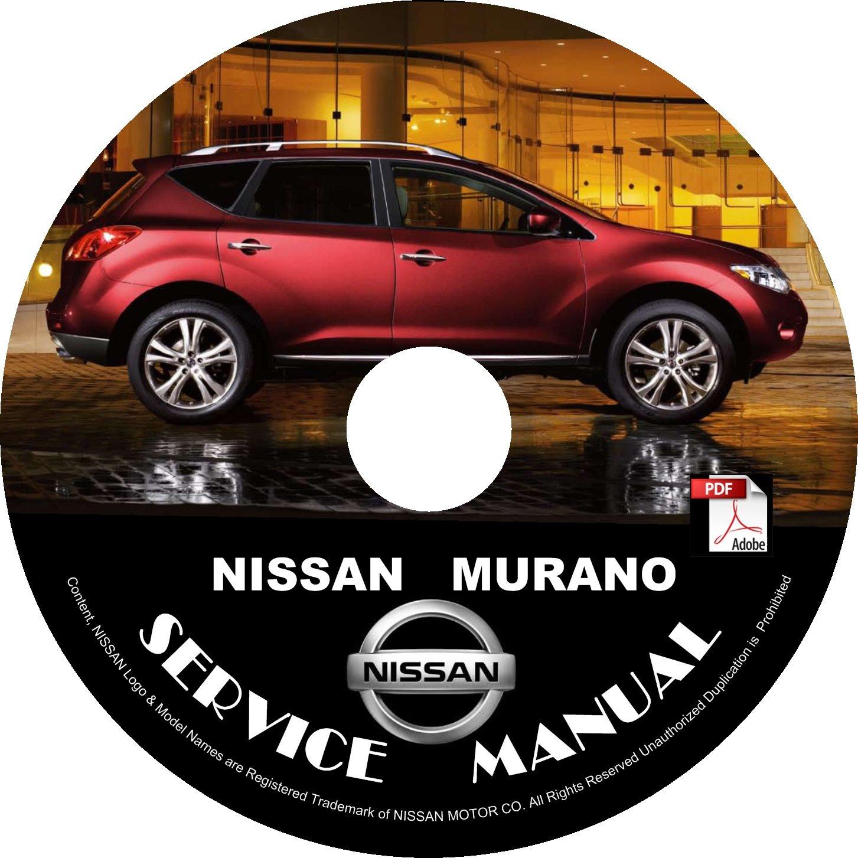 2014 Nissan Murano Factory Service Repair Shop Manual on CD Fix Repair Rebuild '14 Workshop Guide