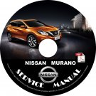 2015 Nissan Murano Factory Service Repair Shop Manual on CD Fix Repair Rebuild '15 Workshop Guide