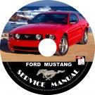 2007 Ford Mustang Factory Service Repair Shop Manual on CD Fix Repair Rebuilt 07 Workshop Guide