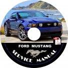 2011 Ford Mustang Factory Service Repair Shop Manual on CD Fix Repair Rebuilt '11 Workshop Guide