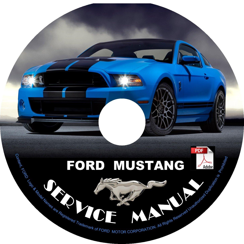 2012 Ford Mustang Factory Service Repair Shop Manual on CD Fix Repair Rebuild '12 Workshop Guide