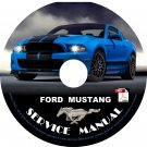 2012 Ford Mustang Factory Service Repair Shop Manual on CD Fix Repair Rebuild '12 Workshop Guide