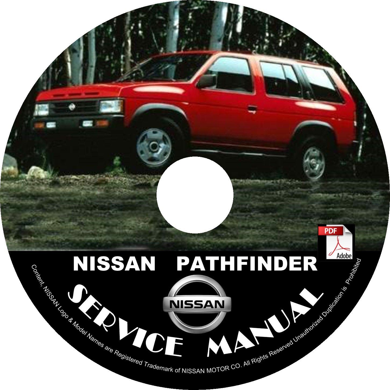 1995 Nissan Pathfinder Service Repair Shop Manual on CD Fix Repair Rebuild 95 Workshop Guide