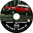 1995 Nissan Pathfinder Service Repair Shop Manual on CD Fix Repair Rebuild 95 Workshop Guide
