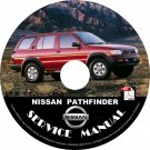 1997 Nissan Pathfinder Service Repair Shop Manual on CD Fix Repair Rebuild 97 Workshop Guide