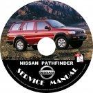 2001 Nissan Pathfinder Service Repair Shop Manual on CD Fix Repair Rebuild '01 Workshop Guide