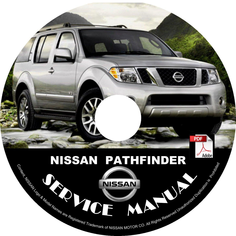2006 Nissan Pathfinder Service Repair Shop Manual on CD Fix Repair Rebuild '06 Workshop Guide
