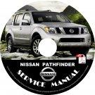 2008 Nissan Pathfinder Service Repair Shop Manual on CD Fix Repair Rebuild '08 Workshop Guide