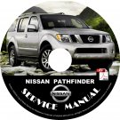 2010 Nissan Pathfinder Service Repair Shop Manual on CD Fix Repair Rebuild '10 Workshop Guide