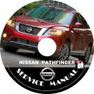 2013 Nissan Pathfinder Service Repair Shop Manual on CD Fix Repair Rebuild '13 Workshop Guide