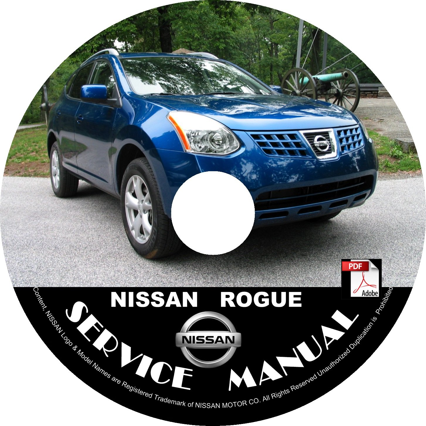 2008 Nissan Rogue Service Repair Shop Manual on CD Fix Repair Rebuild 08 Workshop Guide