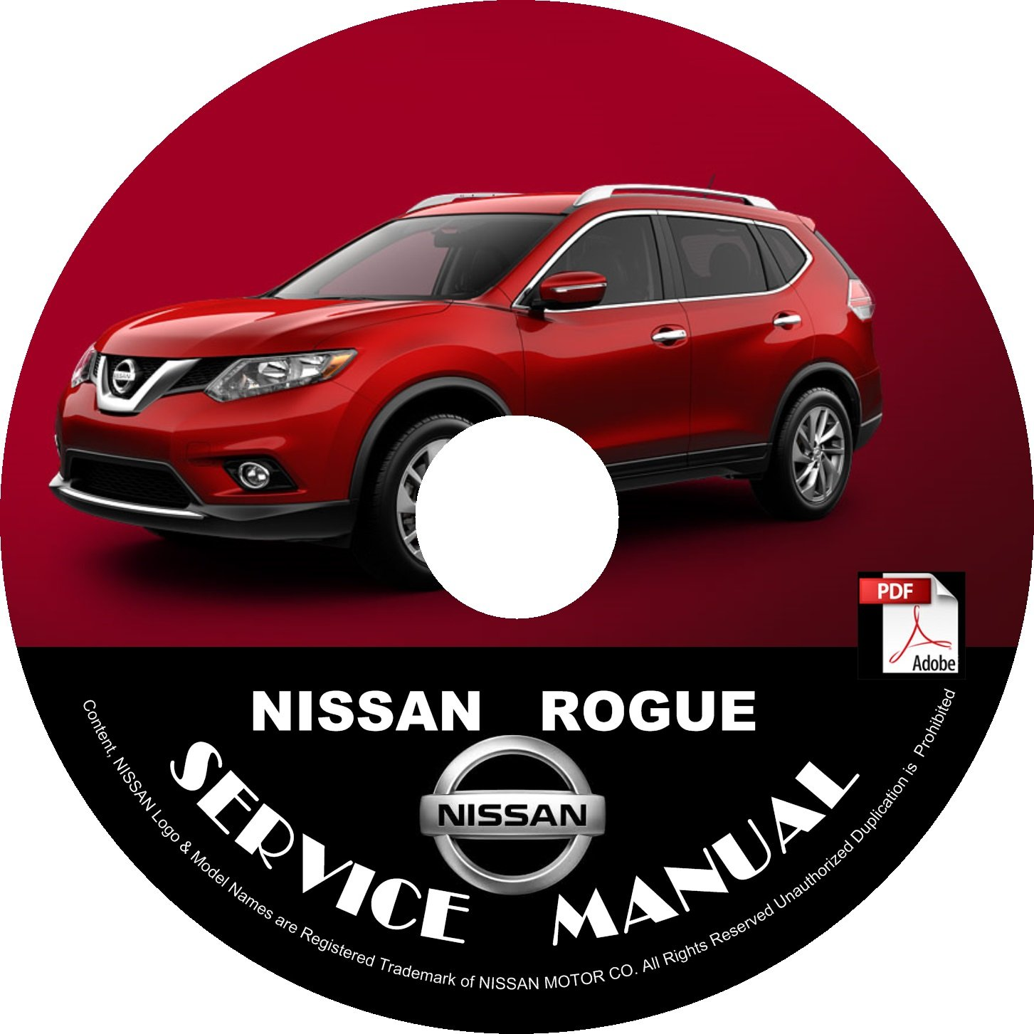2015 Nissan Rogue Service Repair Shop Manual on CD Fix Repair Rebuild '15 Workshop Guide