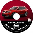 2016 Nissan Rogue Service Repair Shop Manual on CD Fix Repair Rebuild '16 Workshop Guide