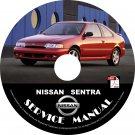 1995 95 Nissan Sentra Factory Service Repair Shop Manual on CD Fix Repair Rebuild 95 Workshop Guide