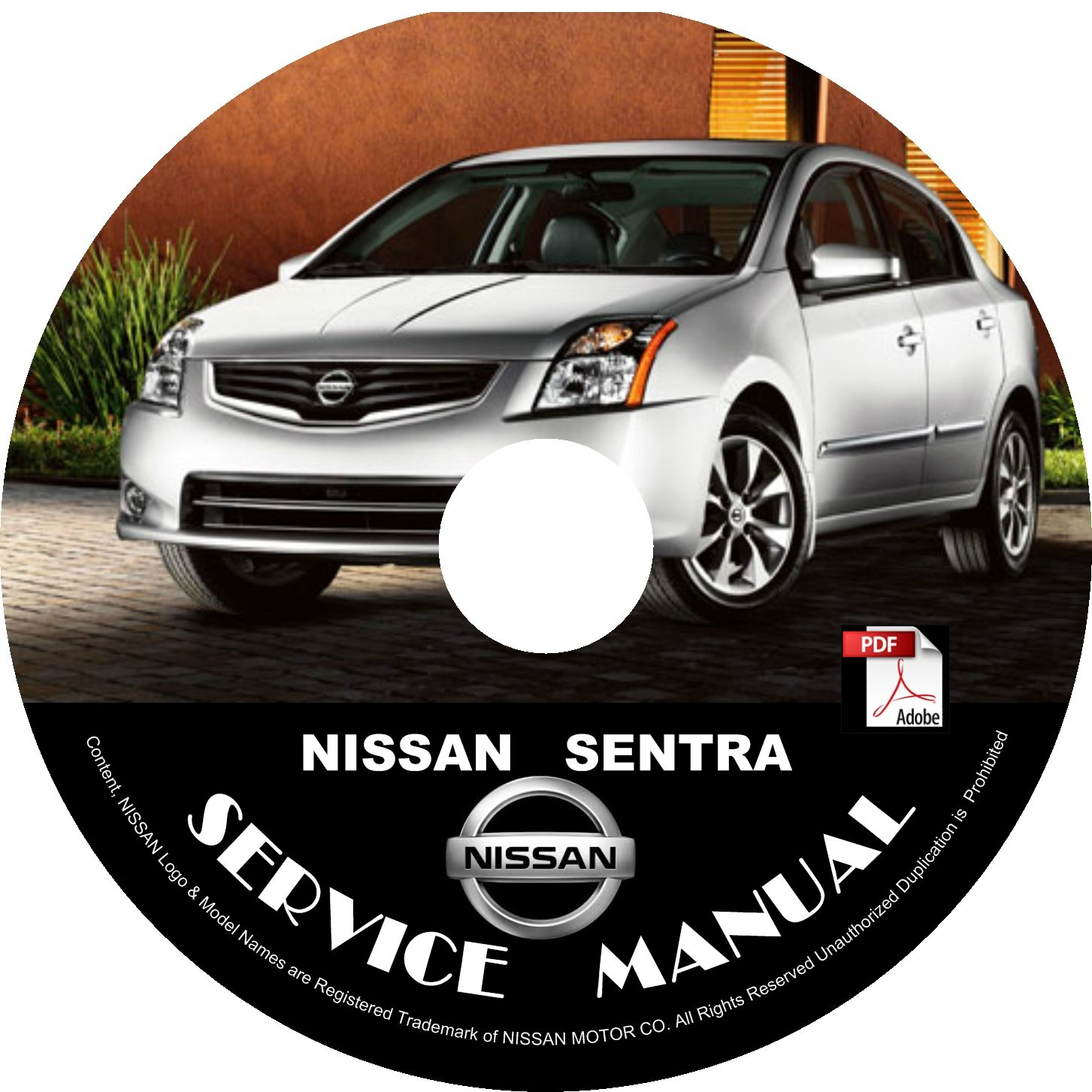 2007 Nissan Sentra Factory Service Repair Shop Manual on CD 2.0 2.0S 2.0SL SE-R-V '07 Workshop