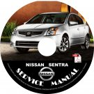 2008 Nissan Sentra Factory Service Repair Shop Manual on CD 2.0 2.0S 2.0SL SE-R-V '08 Workshop