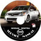 2012 Nissan Sentra Factory Service Repair Shop Manual on CD 2.0 2.0S-SL-SR SE-R-V '12 Workshop