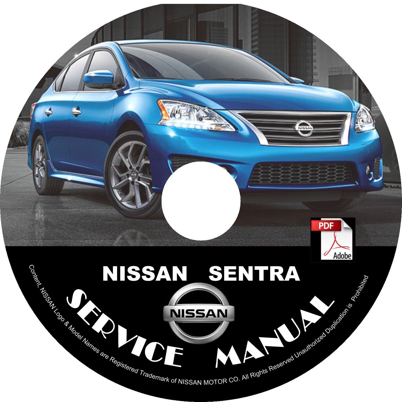 2013 Nissan Sentra Factory OEM Service Repair Shop Manual on CD Fix Repair Rebuild Workshop Guide