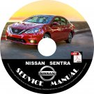 2016 Nissan Sentra Factory OEM Service Repair Shop Manual on CD Fix Repair Rebuild Workshop Guide
