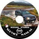 05 2005 Nissan XTERRA Factory OEM Service Repair Shop Manual on CD Repair Rebuild Fix 05 Workshop