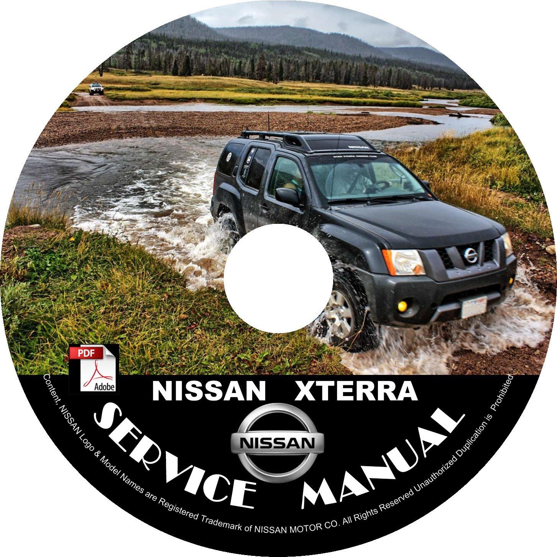 06 2006 Nissan XTERRA Factory OEM Service Repair Shop Manual on CD Repair Rebuild Fix 06 Workshop
