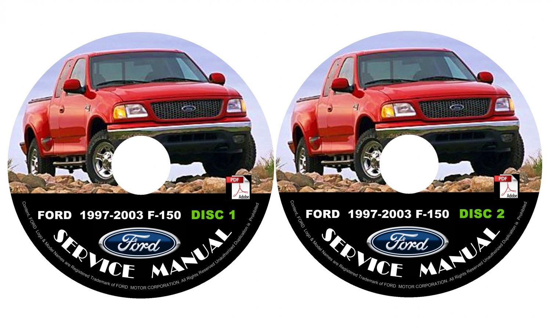 2002 Ford F150 F-150 Factory Service Repair Shop Manual on CD Fix Repair Rebuild '02 Workshop Guide