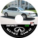 2002 Infiniti I35 Factory OEM Service Repair Shop Manual on CD Fix Repair Rebuild '02 Workshop Guide