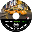 2015 Nissan NV 200 TAXI Factory Service Repair Shop Manual on CD Fix Repair Rebuild NV200 Workshop