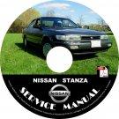 1990 Nissan Stanza Service Repair Shop Manual on CD Fix Repair Rebuild '90 Workshop