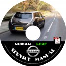 2015 Nissan Leaf Factory Service Repair Shop Manual on CD Fix Repair Rebuild Workshop Guide