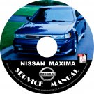 1991 Nissan Maxima Service Repair Shop Manual on CD Fix Repair Rebuild '91 Workshop Guide