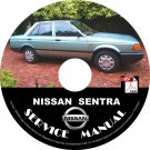 1990 Nissan Sentra Service Repair Shop Manual on CD Fix Repair Rebuild '90 Workshop Guide