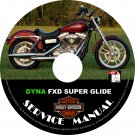 2002 Harley Davidson Dyna FXD Super Glide Service Repair Shop Manual on CD Fix Rebuild '02 Workshop