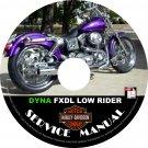 2001 Harley Davidson FXDL Dyna Low Rider Service Repair Shop Manual on CD Fix Rebuild '01 Workshop