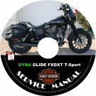 2001 Harley Davidson DYNA GLIDE FXDXT T-Sport Service Repair Shop Manual on CD Fix Rebuild Workshop