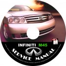 2003 Infiniti M45 Factory Service Repair Shop Manual on CD Fix Repair Rebuild 03 Workshop Guide