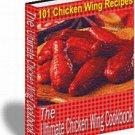 101 Chicken Wing Recipes eBook on CD