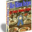 Blue Ribbon 490 Award Winning Recipes eBook on Cd